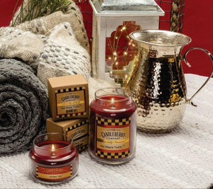 Hot Maple Toddy®, 26 oz. Jar, Scented Candle 26 oz. Large Jar Candle The Candleberry Candle Company