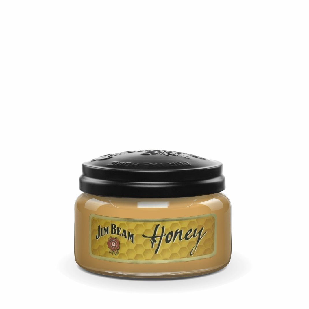 Jim Beam Honey®, 10 oz. Jar, Scented Candle Jim Beam, 10 oz. Small Jar Candle The Candleberry Candle Company