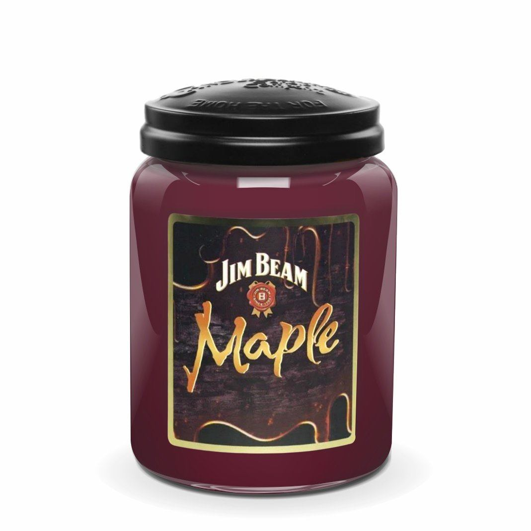 Jim Beam Maple®, 26 oz. Jar, Scented Candle Jim Beam, 26 oz. Large Jar Candle The Candleberry Candle Company