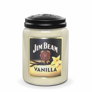 Jim Beam Vanilla®, 26 oz. Jar, Scented Candle Jim Beam, 26 oz. Large Jar Candle The Candleberry Candle Company