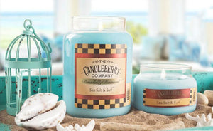 Sea Salt & Surf™, 26 oz. Jar, Scented Candle 26 oz. Large Jar Candle The Candleberry Candle Company