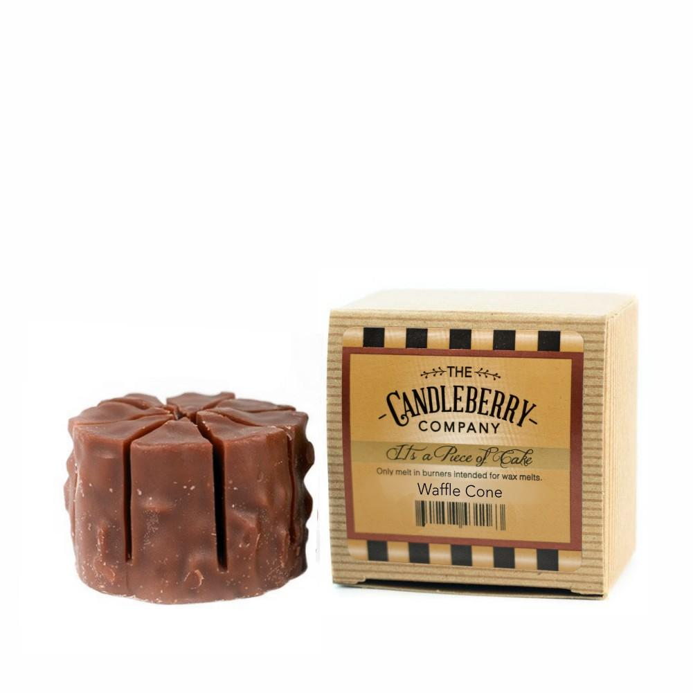 "Waffle Cone™, ""It's a Piece of Cake"" Scented Wax Melts ""It's a Piece of Cake""® Wax Melts The Candleberry Candle Company"