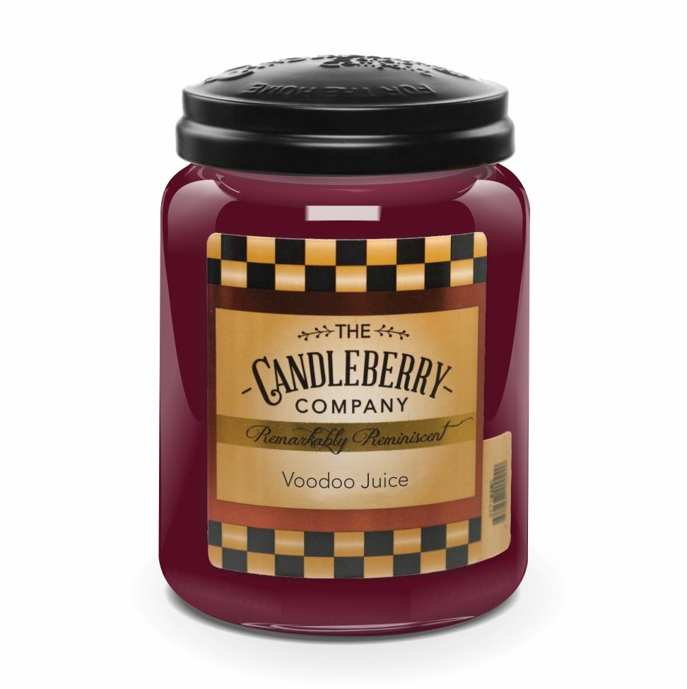 Voodoo Juice, 26 oz. Jar, Scented Candle 26 oz. Large Jar Candle The Candleberry Co.