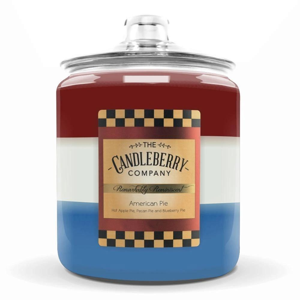 American Pie™, 160 oz. Jar, Scented Candle 160 oz. Cookie Jar Candle The Candleberry Candle Company