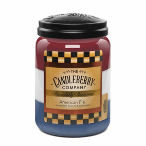 American Pie, 26 oz. Jar, Scented Candle 26 oz. Large Jar Candle The Candleberry® Candle Company