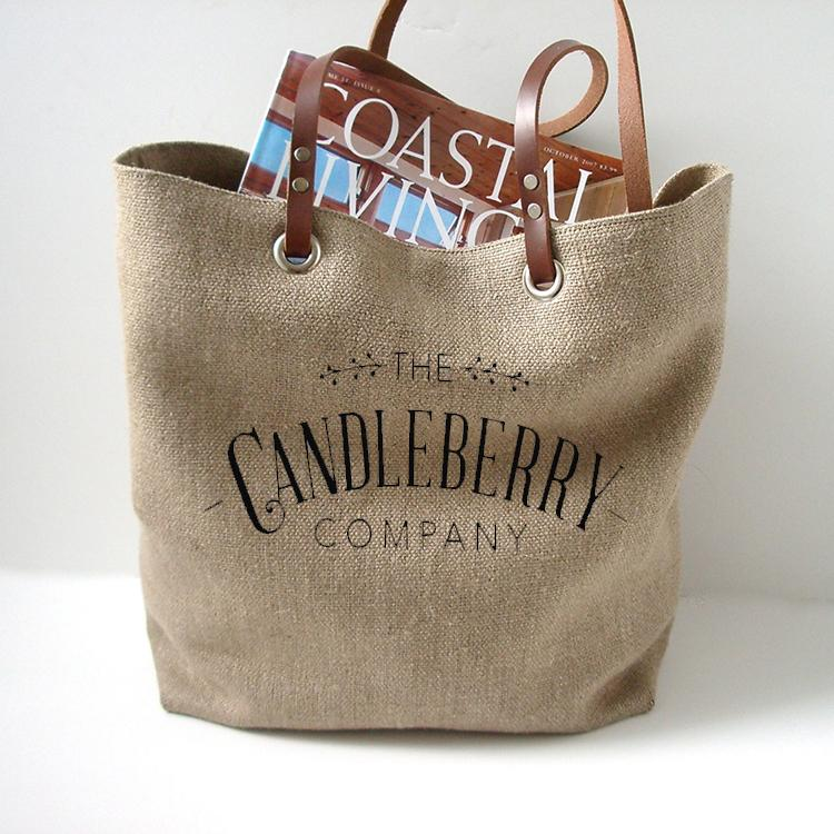 Candleberry Tote Bag Accessories The Candleberry® Candle Company