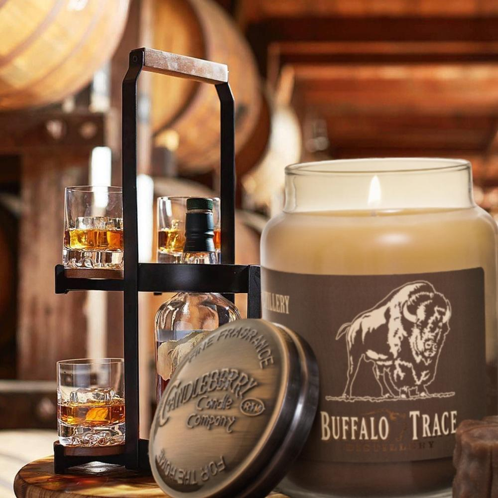Buffalo Trace® Bourbon Roasted Pecans™, 26 oz. Jar, Scented Candle Buffalo Trace, 26 oz. Large Jar Candle The Candleberry Candle Company