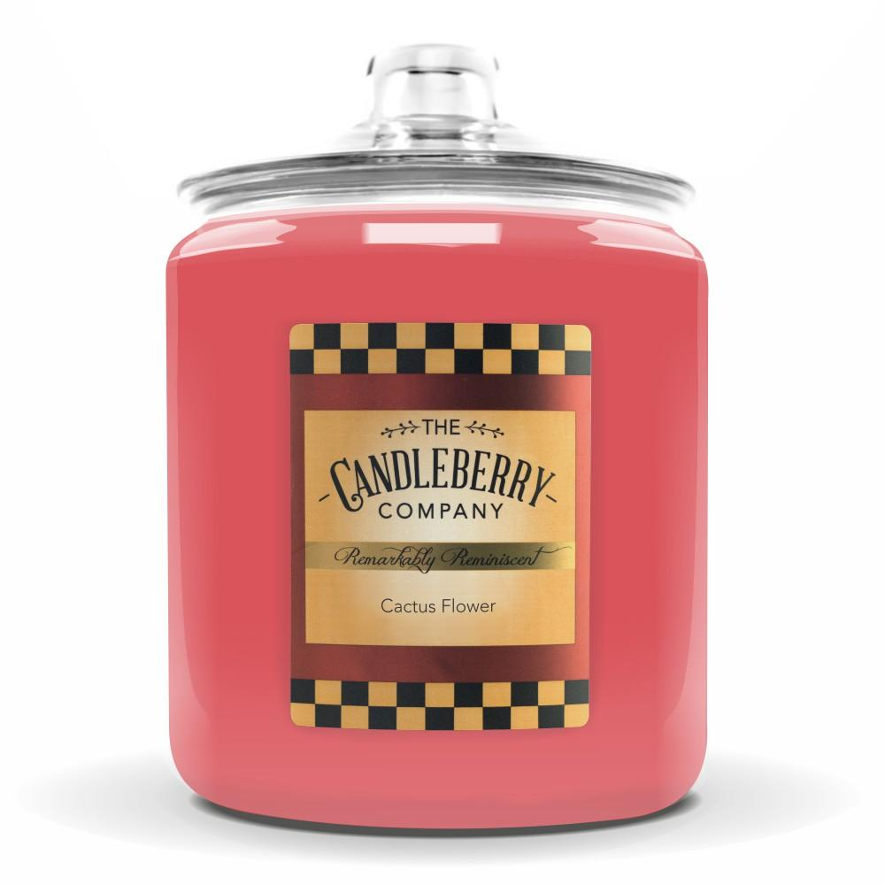 Cactus Flower™, 160 oz. Jar, Scented Candle 160 oz. Cookie Jar Candle The Candleberry Candle Company