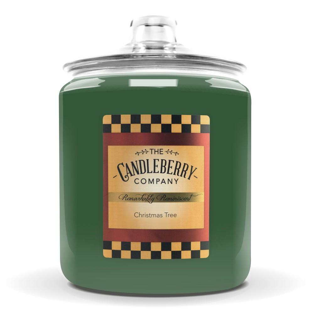 Christmas Tree™, 160 oz. Jar, Scented Candle 160 oz. Cookie Jar Candle The Candleberry Candle Company