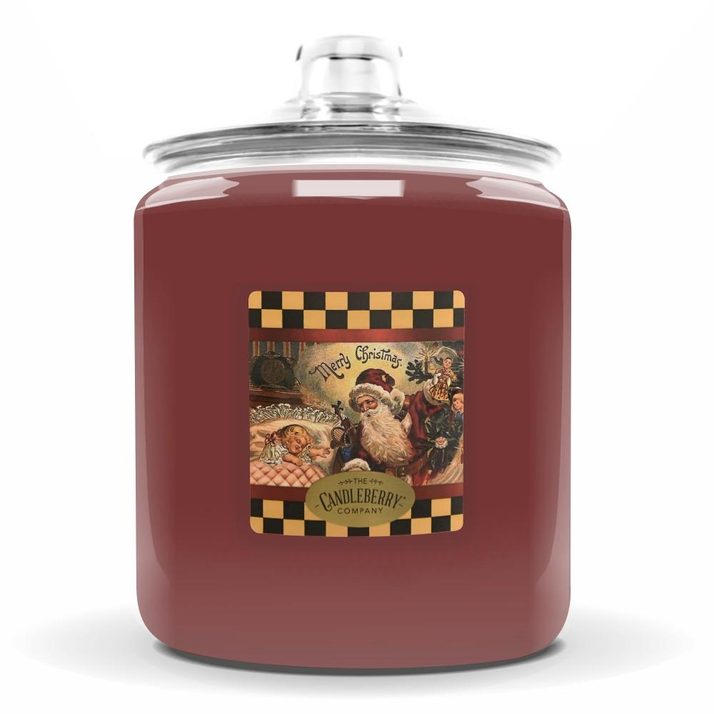 Merry Christmas™, 160 oz. Jar, Scented Candle 160 oz. Cookie Jar Candle The Candleberry Candle Company