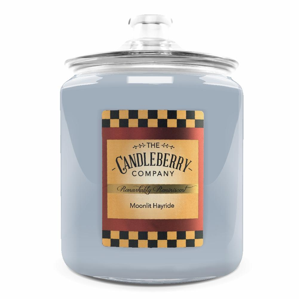 Moonlit Hayride™, 160 oz. Jar, Scented Candle 160 oz. Cookie Jar Candle The Candleberry Candle Company