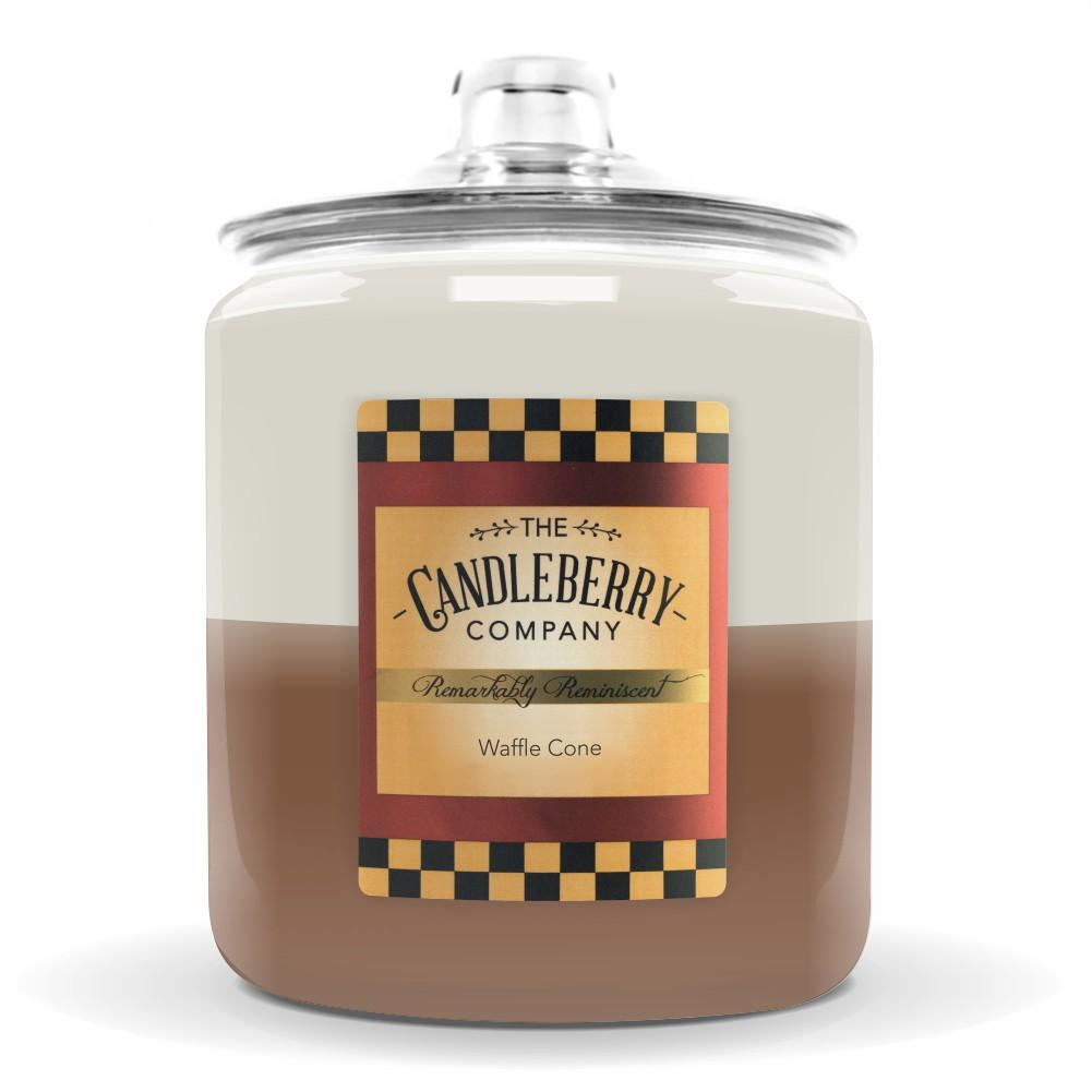 Waffle Cone™, 160 oz. Jar, Scented Candle 160 oz. Cookie Jar Candle The Candleberry Candle Company