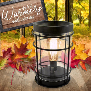 """Nostalgic Edison"" Tart Warmer, Including Safety Timer Warmer The Candleberry Candle Company"