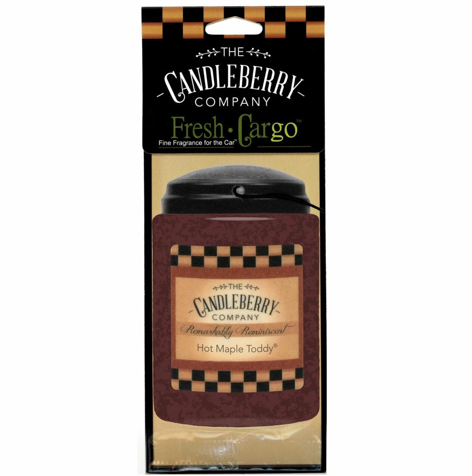 "Hot Maple Toddy® 2-Pack, ""Fresh Cargo"", Scent for the Car Fresh CarGo® Car Scent The Candleberry Candle Company"