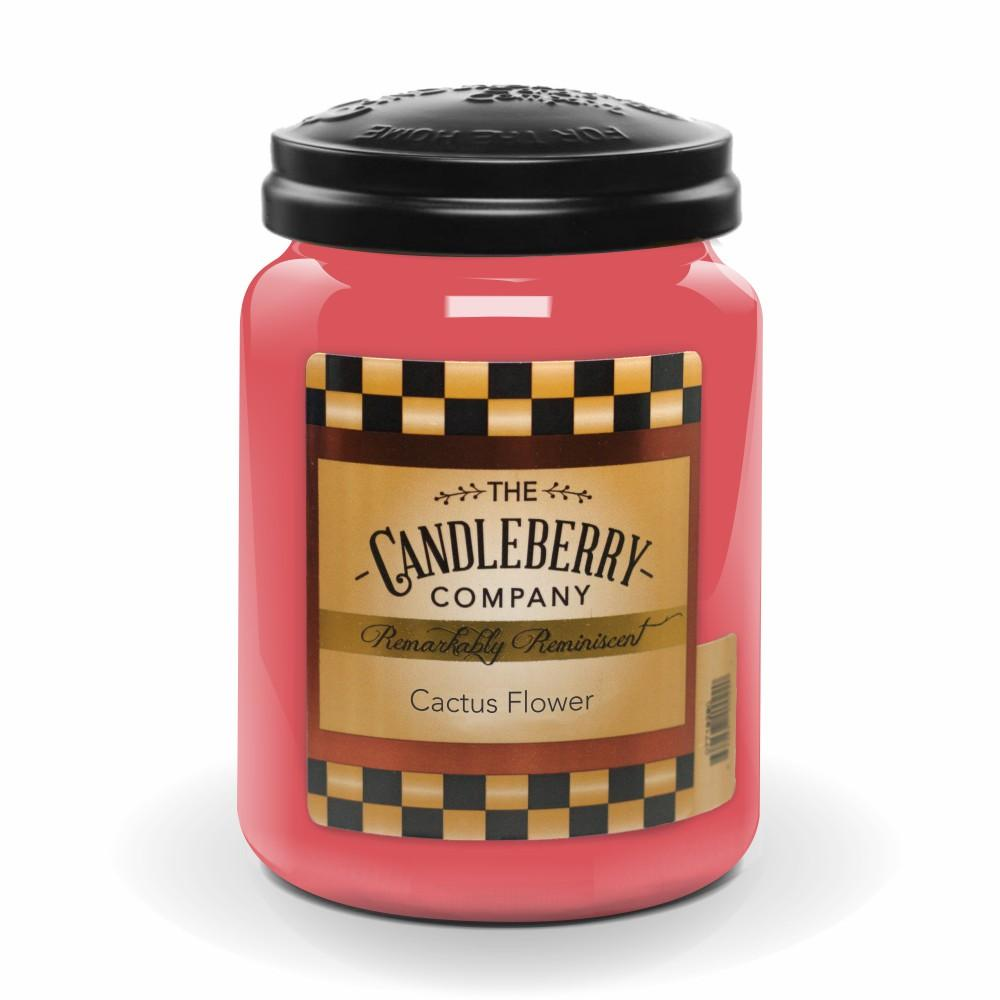 Cactus Flower™, 26 oz. Jar, Scented Candle 26 oz. Large Jar Candle The Candleberry Candle Company