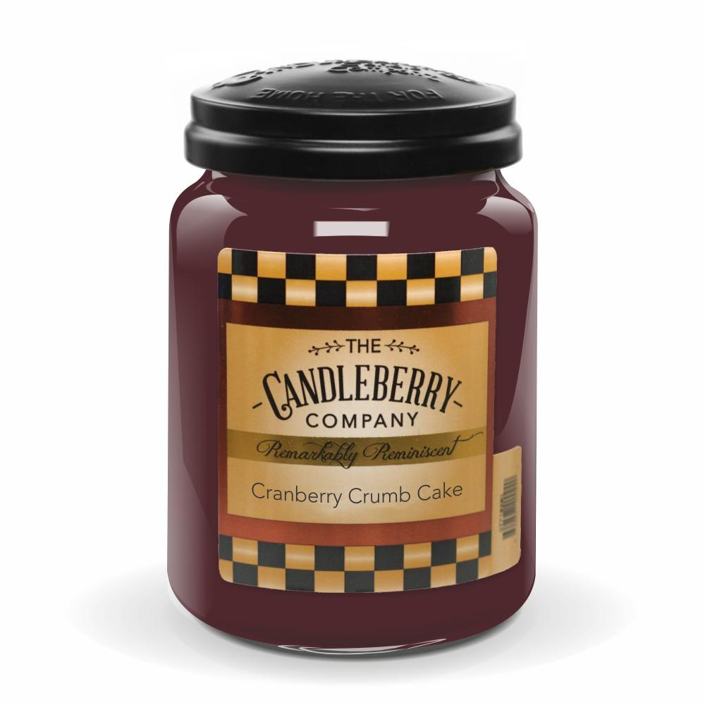 Cranberry Crumb Cake™, 26 oz. Jar, Scented Candle 26 oz. Large Jar Candle The Candleberry Candle Company