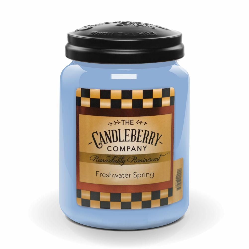 Freshwater Springs™, 26 oz. Jar, Scented Candle 26 oz. Large Jar Candle The Candleberry Candle Company