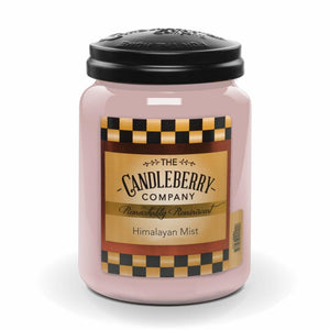 Himalayan Mist™, 26 oz. Jar, Scented Candle 26 oz. Large Jar Candle The Candleberry Candle Company