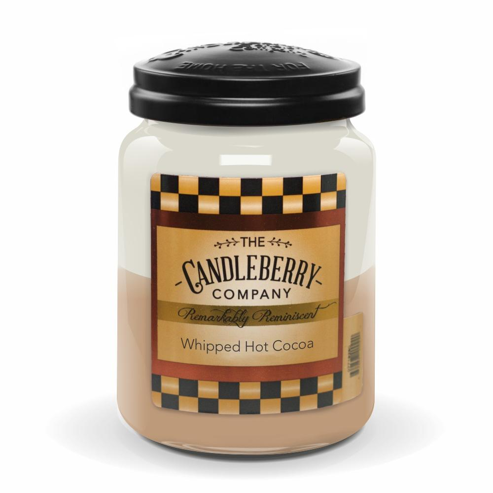 Whipped Hot Cocoa, 26 oz. Jar, Scented Candle 26 oz. Large Jar Candle The Candleberry Candle Company