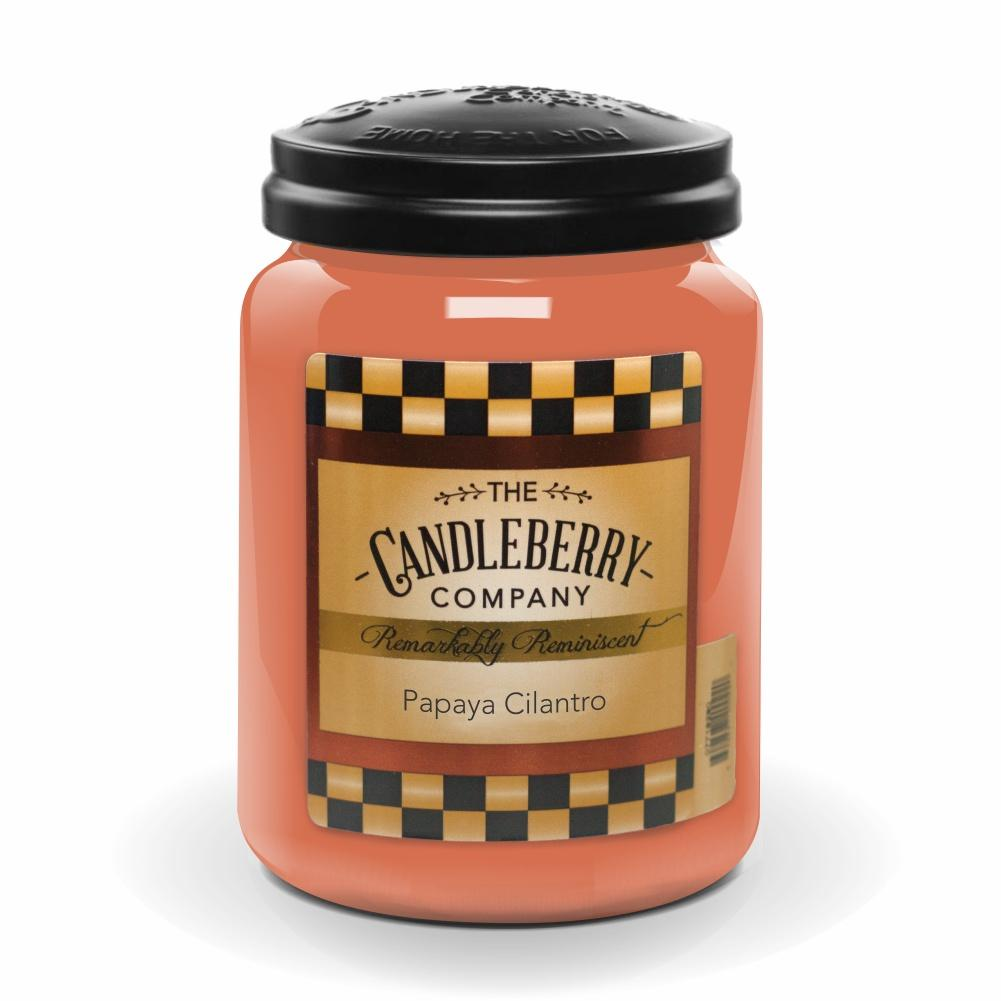 Papaya Cilantro™, 26 oz. Jar, Scented Candle 26 oz. Large Jar Candle The Candleberry Candle Company