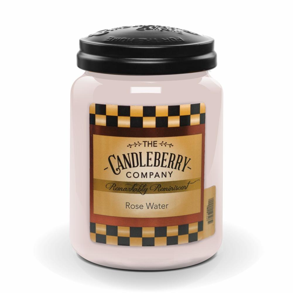 Rose Water™, 26 oz. Jar, Scented Candle 26 oz. Large Jar Candle The Candleberry Candle Company