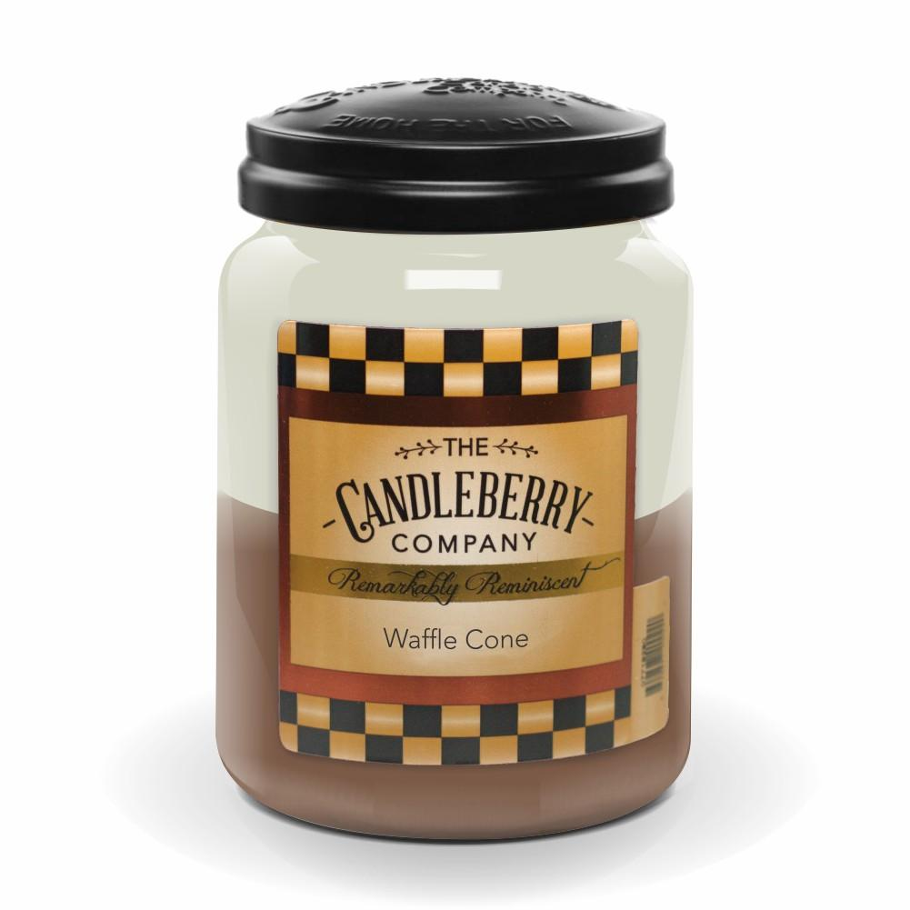 Waffle Cone™, 26 oz. Jar, Scented Candle 26 oz. Large Jar Candle The Candleberry Candle Company