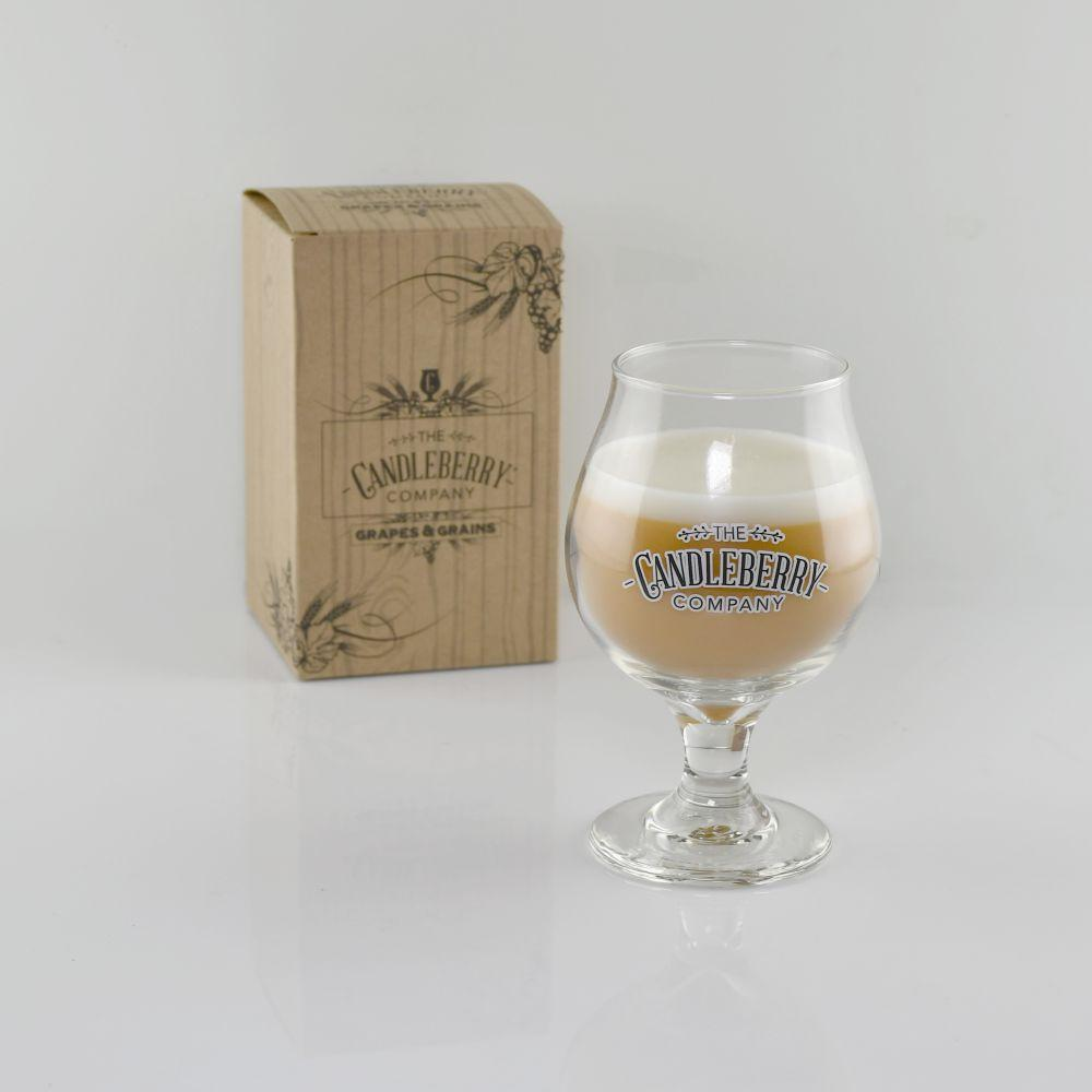 Light Beer, NEW Candleberry Beer Glass The Candleberry® Candle Company
