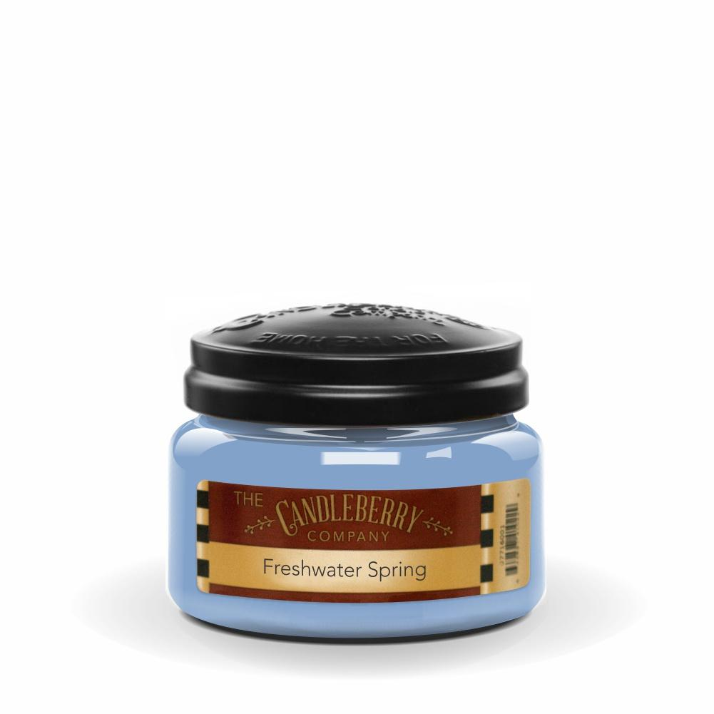 Freshwater Springs™, 10 oz. Jar, Scented Candle 10 oz. Small Jar Candle The Candleberry Candle Company