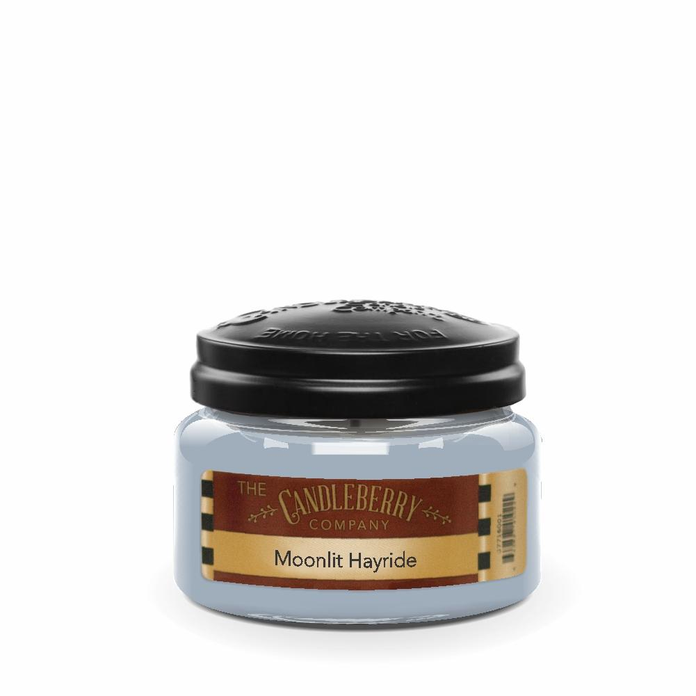 Moonlit Hayride™, 10 oz. Jar, Scented Candle 10 oz. Small Jar Candle The Candleberry Candle Company