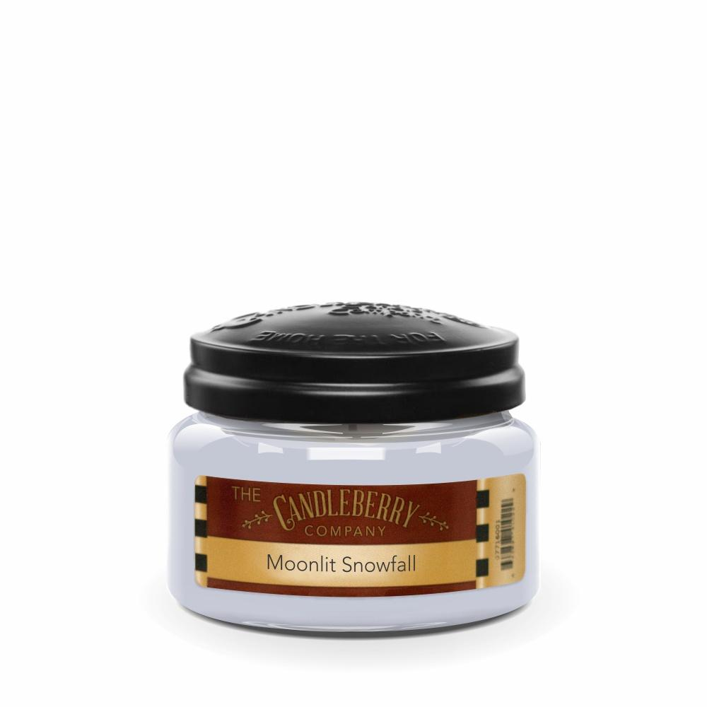 Moonlit Snowfall™, 10 oz. Jar, Scented Candle 10 oz. Small Jar Candle The Candleberry Candle Company