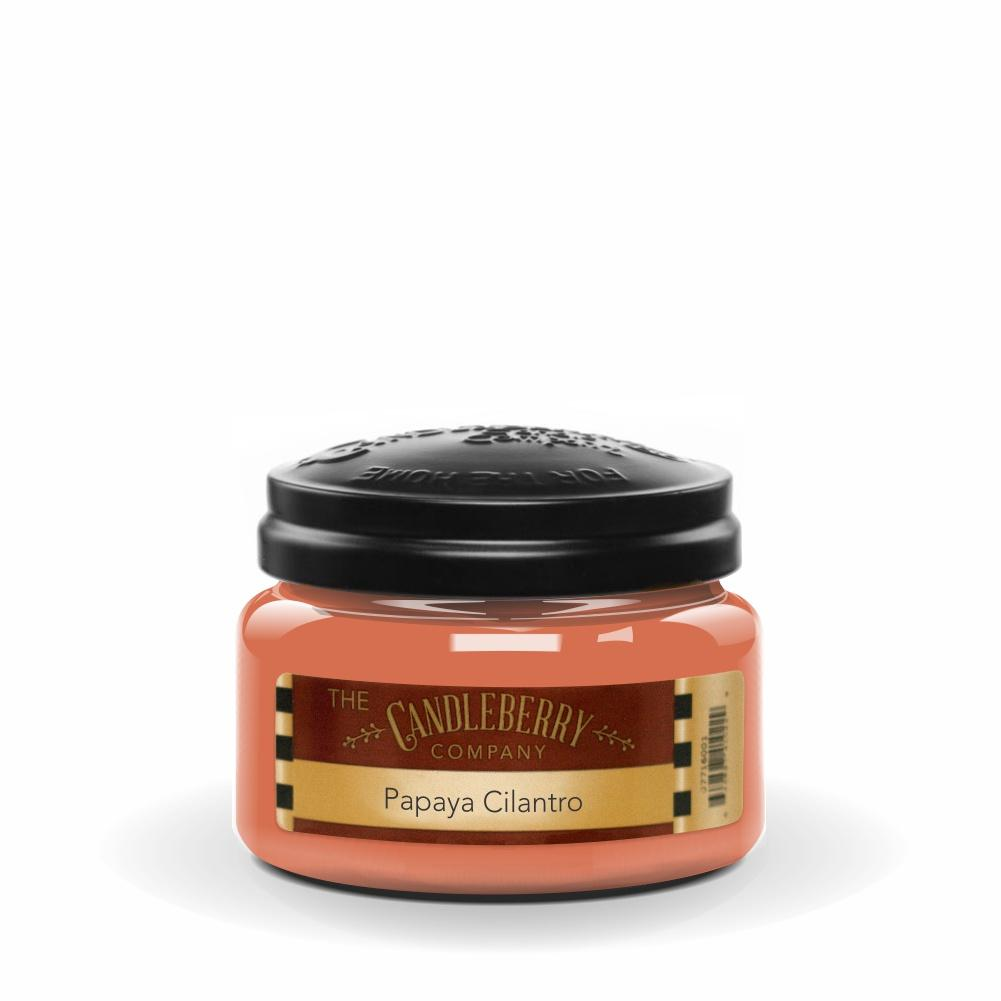 Papaya Cilantro™, 10 oz. Jar, Scented Candle 10 oz. Small Jar Candle The Candleberry Candle Company