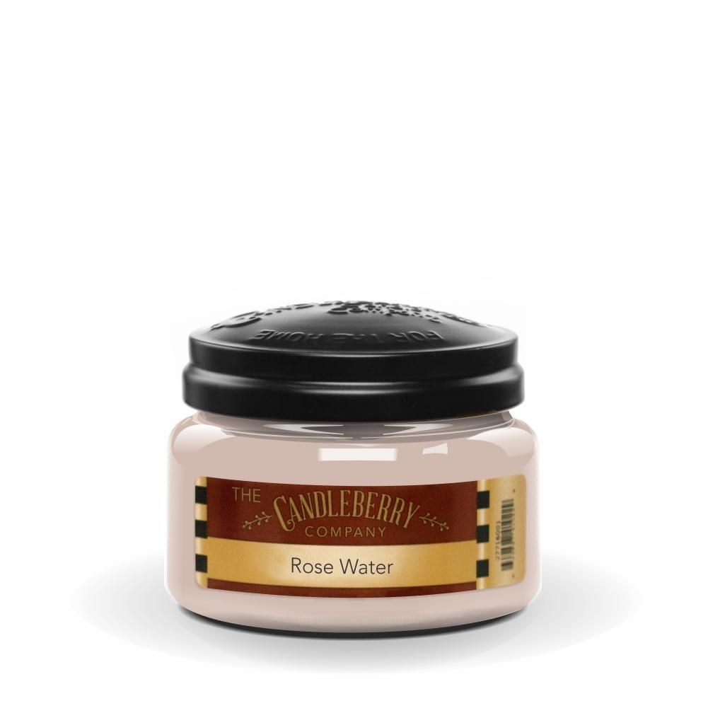 Rose Water™, 10 oz. Jar, Scented Candle 10 oz. Small Jar Candle The Candleberry Candle Company