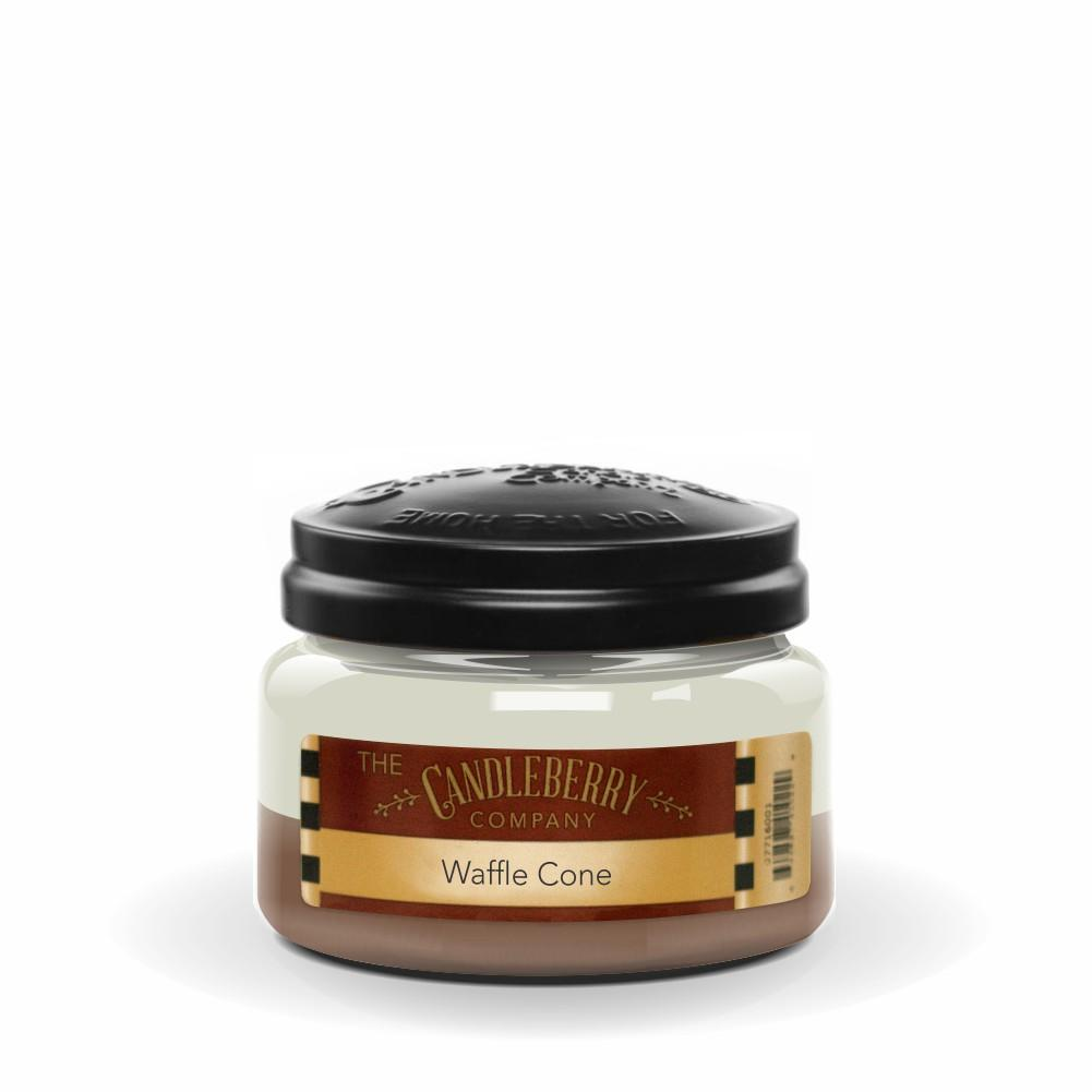 Waffle Cone™, 10 oz. Jar, Scented Candle 10 oz. Small Jar Candle The Candleberry Candle Company