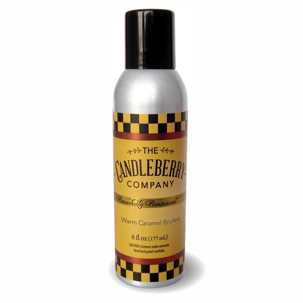 Warm Caramel Brulee™, 6 oz. Room Spray 6 oz. Room Spray The Candleberry Candle Company