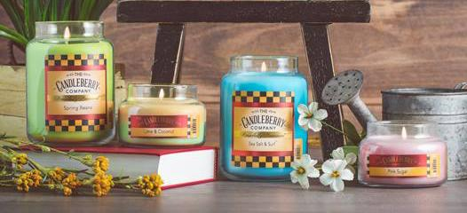 Pink Sugar™, 10 oz. Jar, Scented Candle 10 oz. Small Jar Candle The Candleberry Candle Company