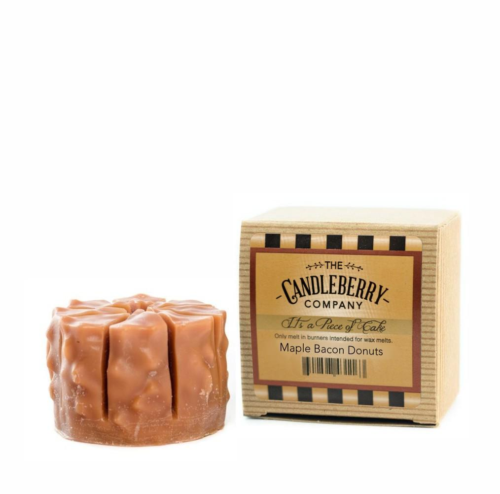 "Maple Bacon Donuts, ""It's a Piece of Cake"" Scented Wax Melts ""It's a Piece of Cake""® Wax Melts The Candleberry Candle Company"