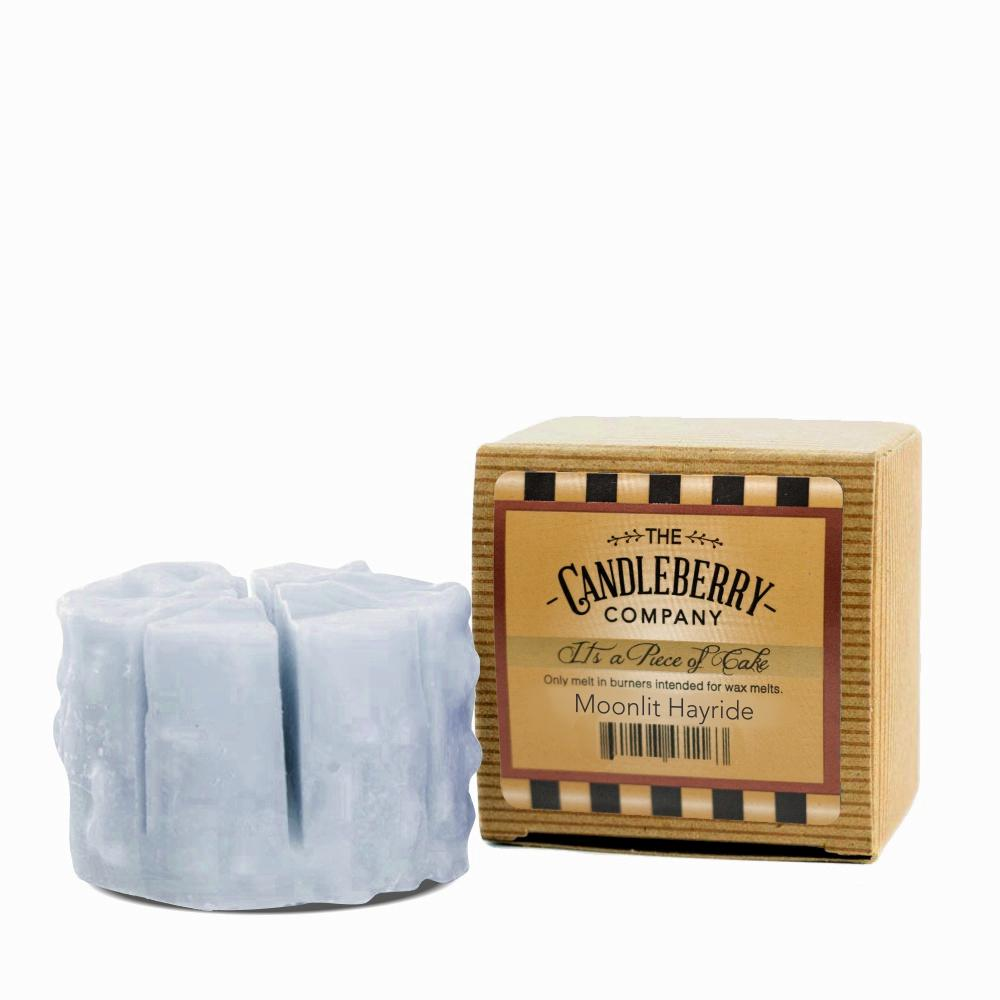 "Moonlit Hayride™, ""It's a Piece of Cake"" Scented Wax Melts ""It's a Piece of Cake""® Wax Melts The Candleberry Candle Company"