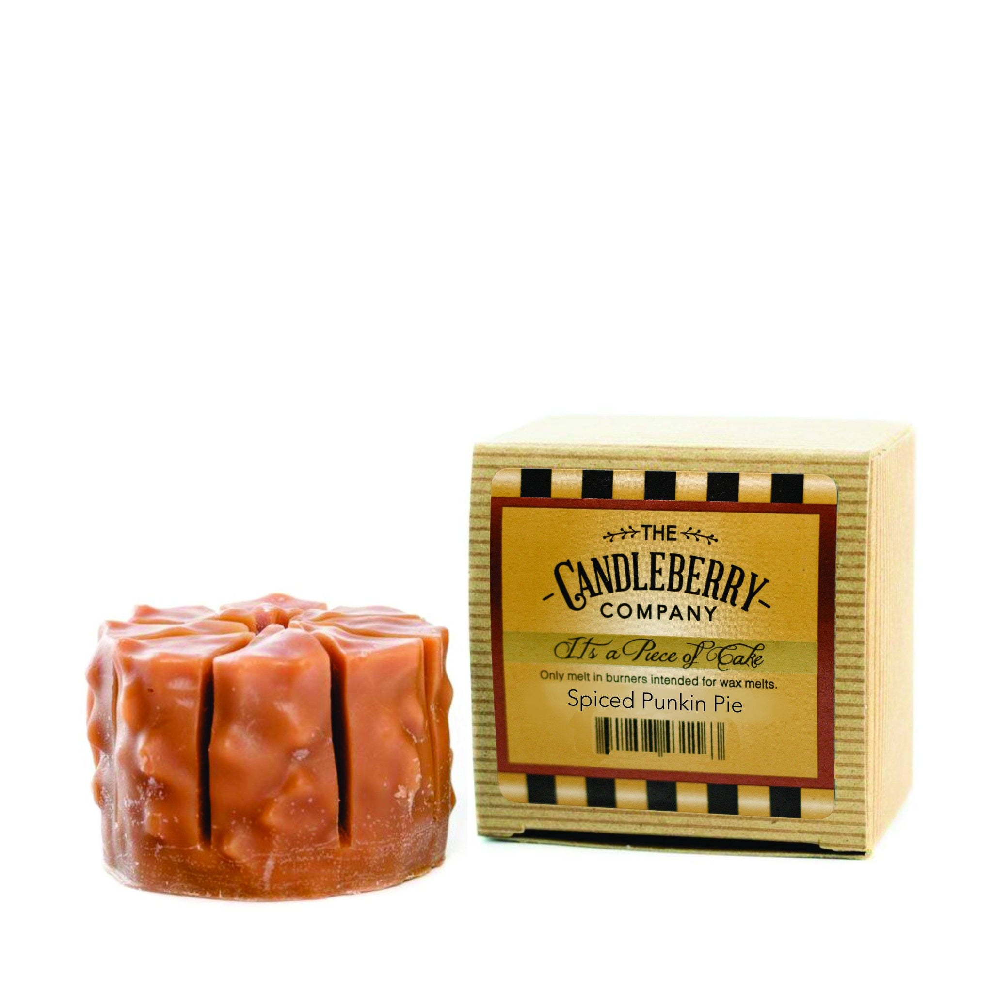 "Spiced Punkin Pie, ""It's a Piece of Cake"" Scented Wax Melts ""It's a Piece of Cake""® Wax Melts The Candleberry® Candle Company"