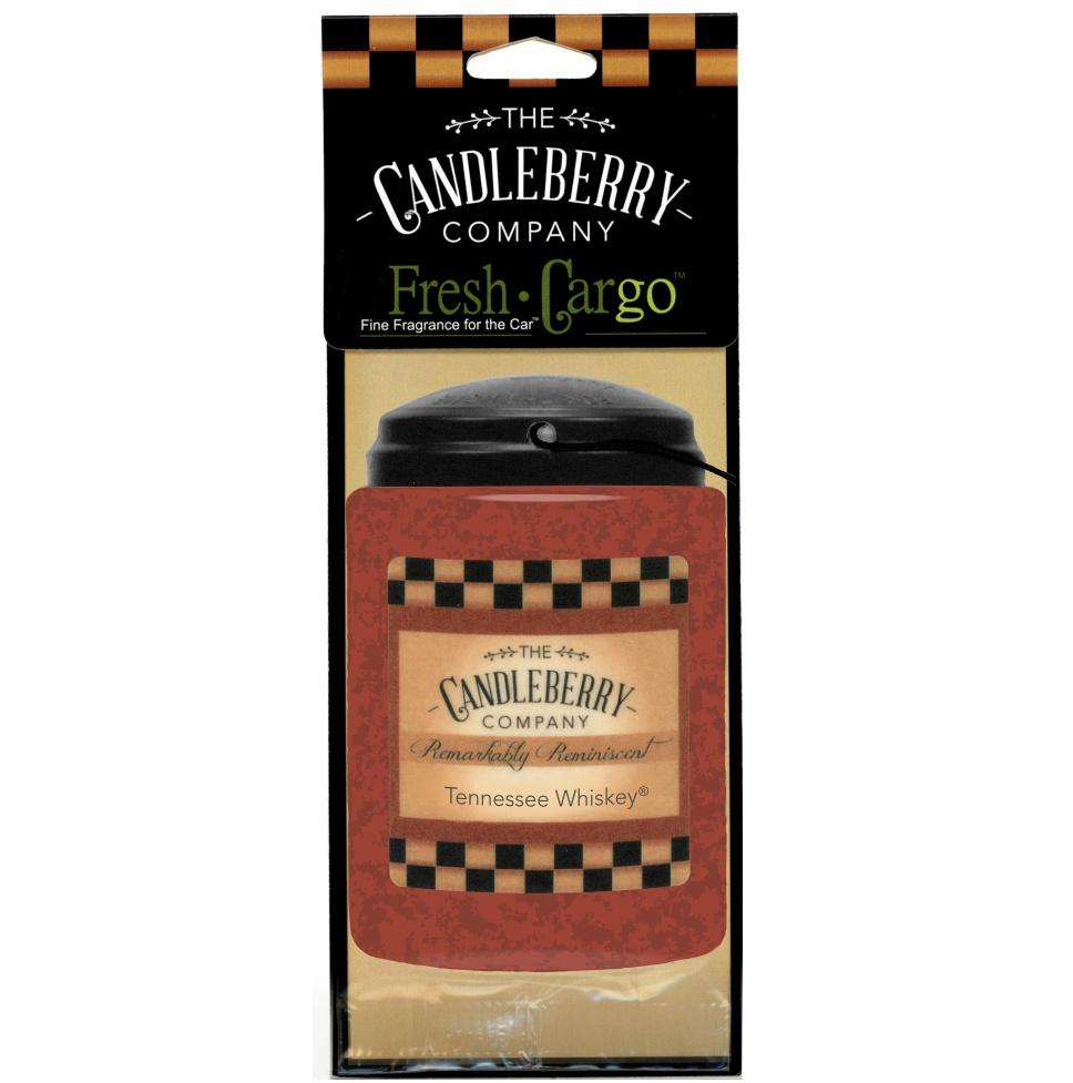 "Tennessee Whiskey®, 2-Pack, ""Fresh Cargo"", Scent for the Car Fresh CarGo® Car Scent The Candleberry Candle Company"