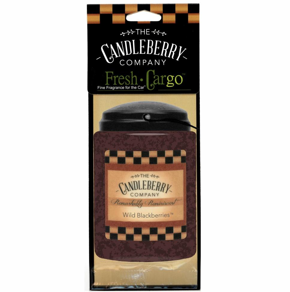 "Wild Blackberries™, 2-Pack, ""Fresh Cargo"", Scent for the Car Fresh CarGo® Car Scent The Candleberry Candle Company"