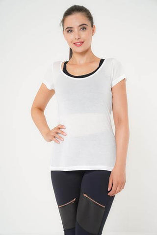 Meghan Short Sleeved Top