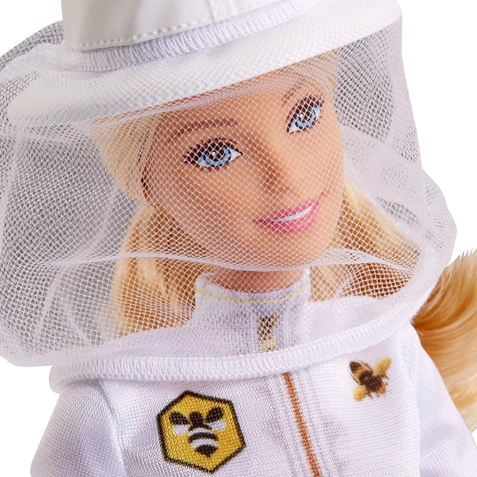Barbie Beekeeper Beehive Blonde Career Doll Playset Mattel