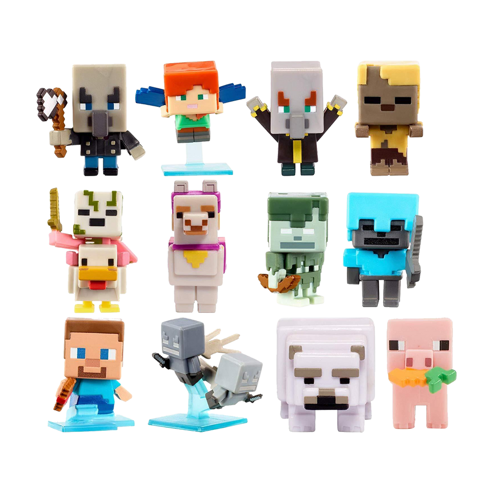 Minecraft Build-A-Mini Figure Set (6-Pack)