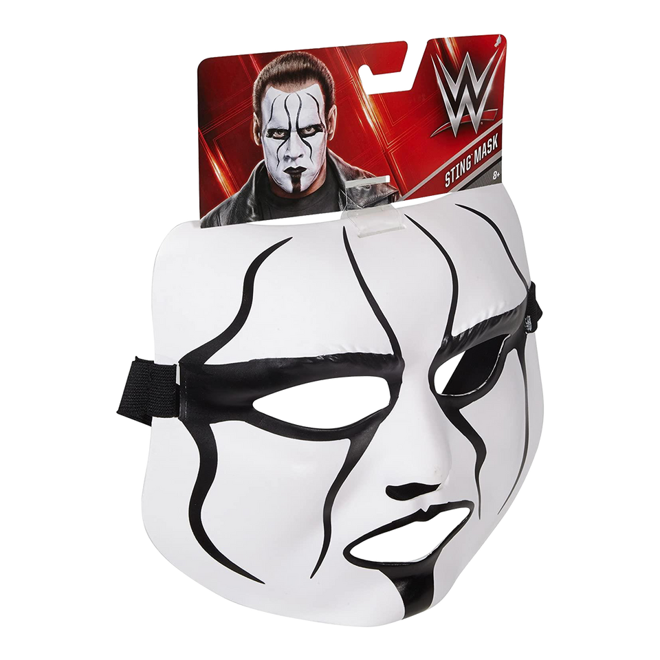 WWE Sting Mask Authentic Wrestling Iconic Superstar