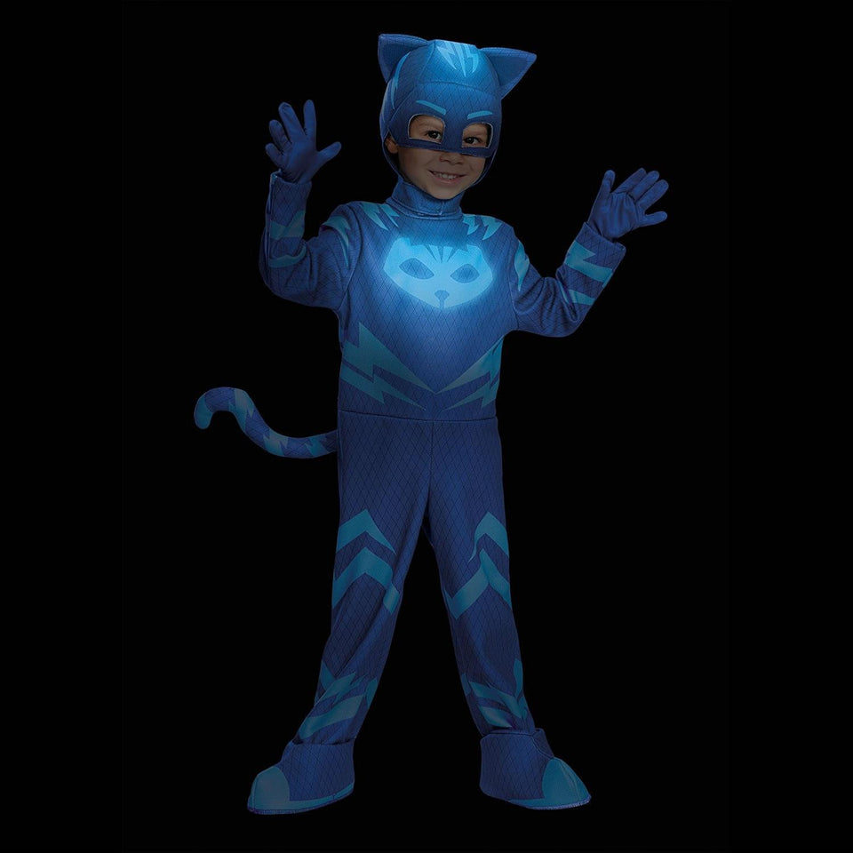 PJ Masks Catboy Glow-in-Dark Deluxe Costume - Small (2T)
