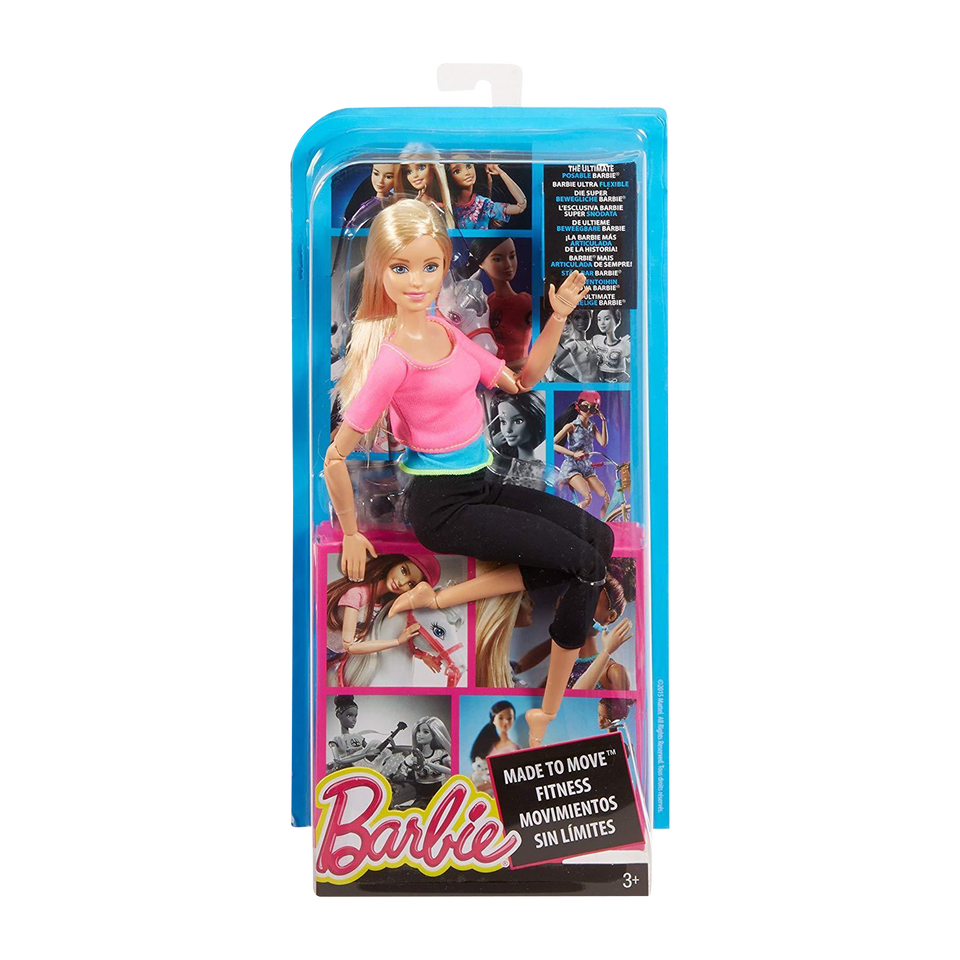 Barbie Made to Move Doll Action Poses