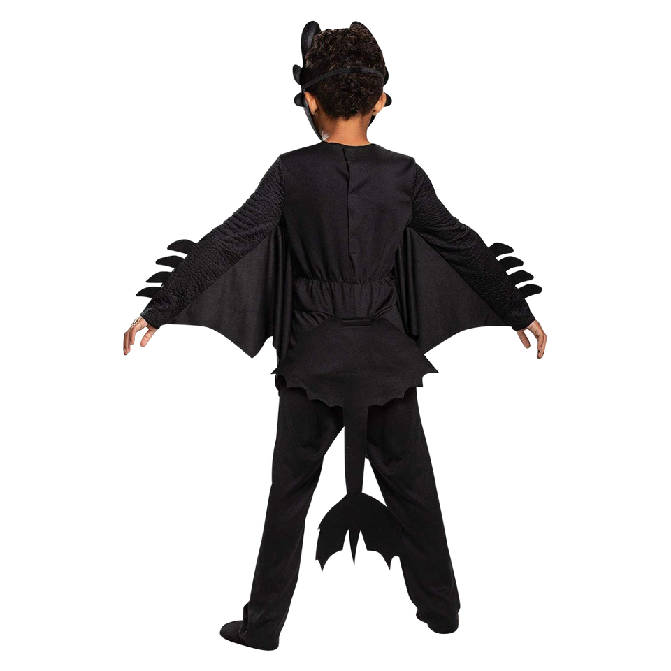 How to Train Your Dragon Toothless Classic Kids Costume - Medium (7/8)