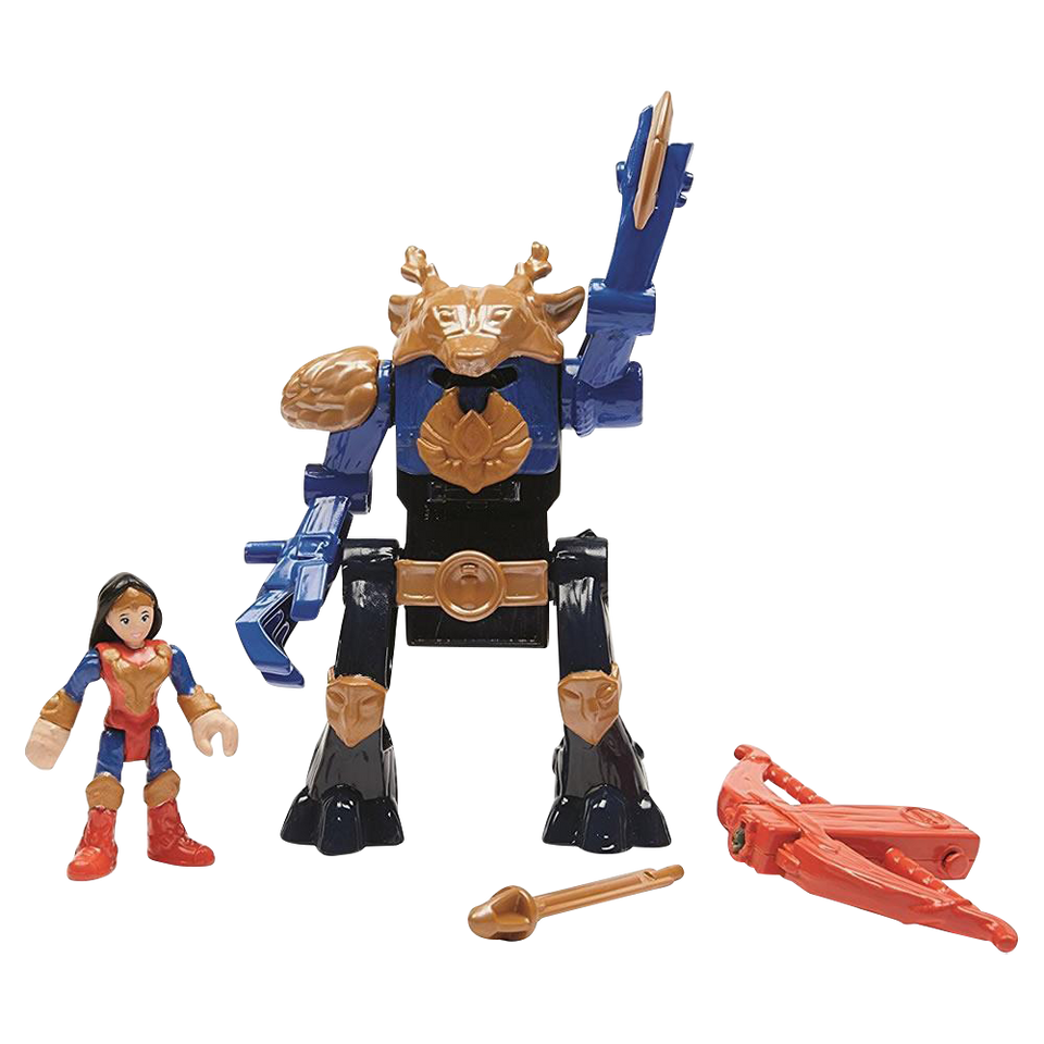 Fisher-Price Imaginext Wonder Woman & Warrior Suit DC Comics Action Figures