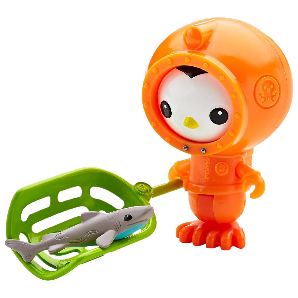 Octonauts Light-up Peso & the Dwarf Lantern Shark Set