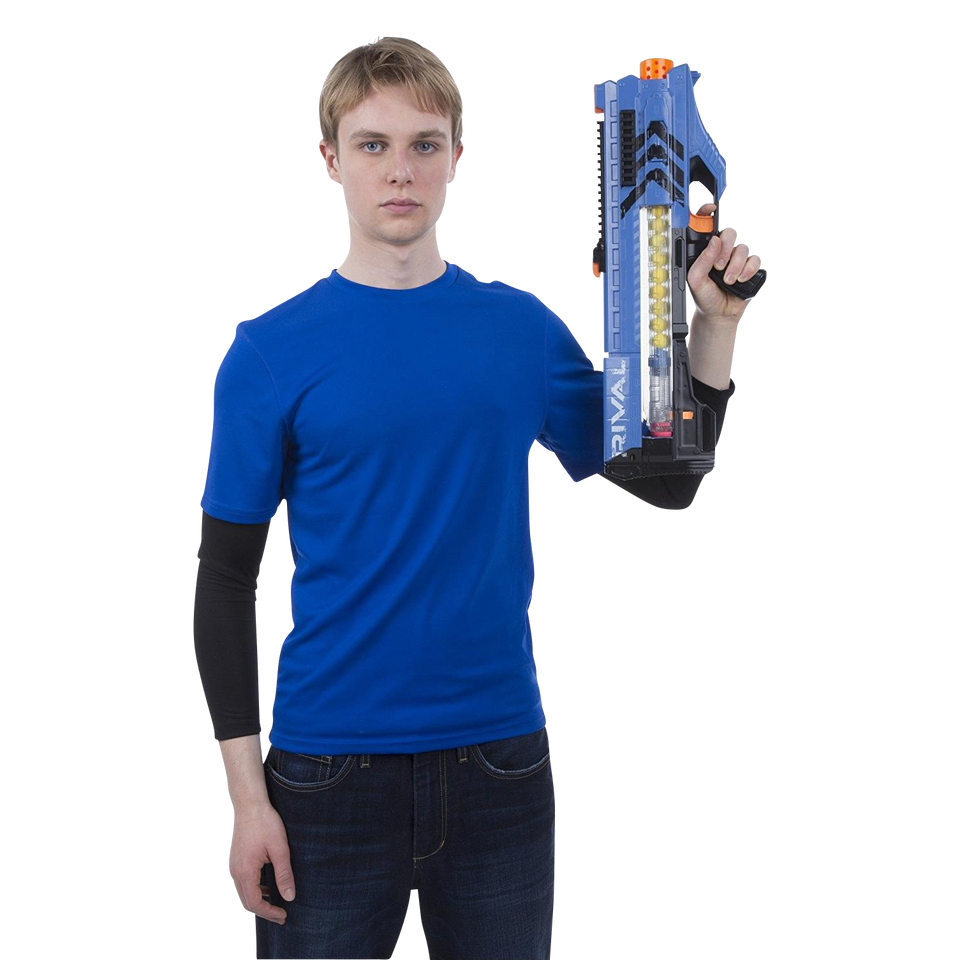 Nerf Rival Zeus MXV-1200 Blaster - Team Blue (Motorized 12-Rounds)